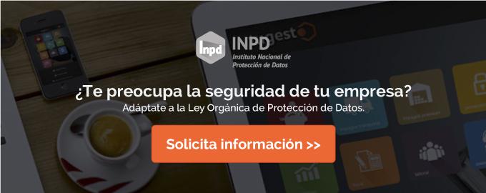 Solicita más información sobre la solución online para la protección de datos en tu empresa.