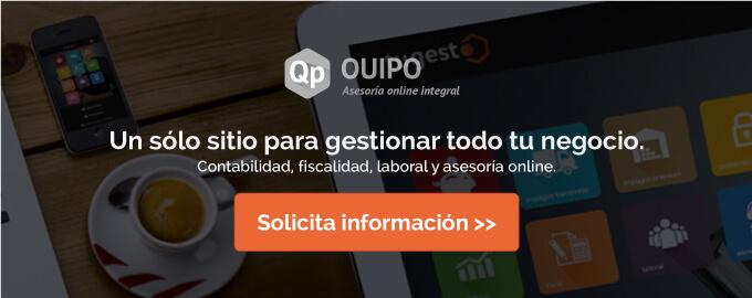 Solicita más información sobre la solución online Quipo