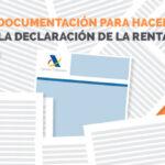 Documentación para la declaración de la renta
