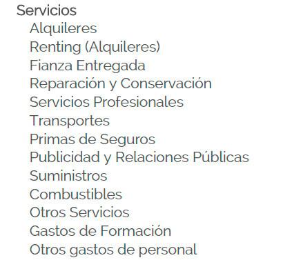 Captura Quipo: Servicios