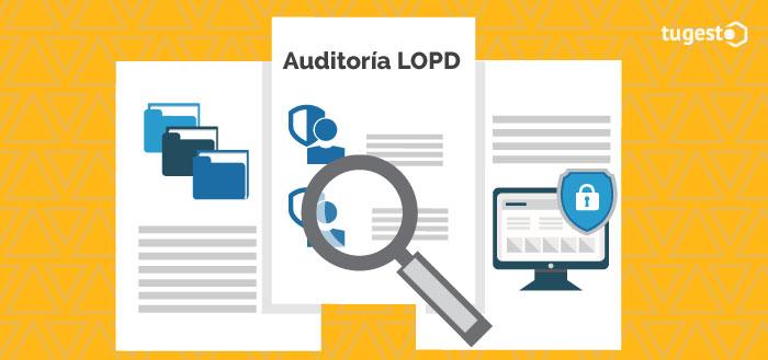 documentos de una auditoría de protección de datos