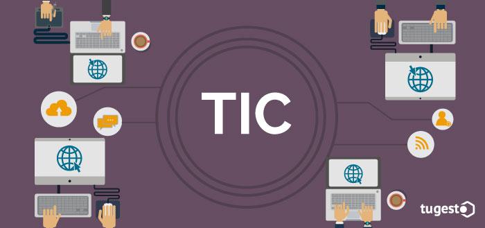 Empresarios que trabajan con las TIC