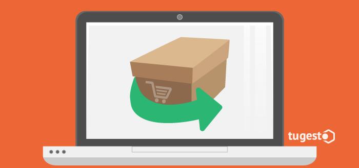 Al comprar online también tienes la opción de devolver el producto comprado.
