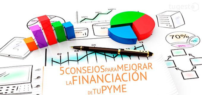 consejos para mejorar la financiación de las pymes