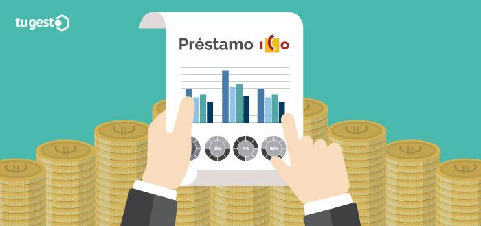 Informe de financiación para solicitar un préstamo ICO