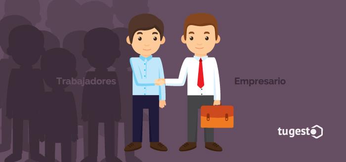 Empresario y trabajadores llegan a un acuerdo sobre el descuelgue salarial en su empresa.
