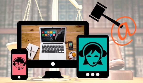 Cuenta con un despacho de abogados online