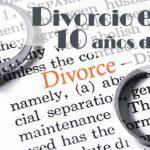 El divorcio exprés cumple 10 años