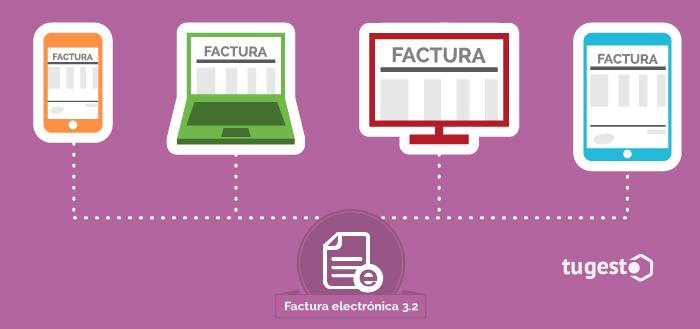 Diferentes dispositivos a través de los cuales se puede expedir una factura electrónica.