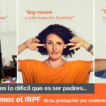 Cómo reclamar online el IRPF de tu prestación por maternidad
