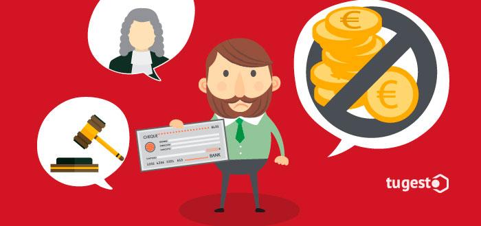 Reclamación de una deuda mediante un procedimiento cambiario.