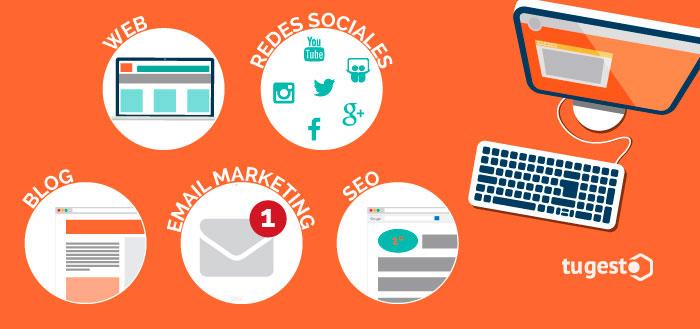 Herramientas para hacer marketing online.