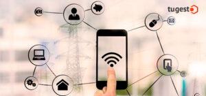 móvil conectado a internet