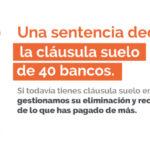 La cláusula suelo se declara nula en 40 bancos
