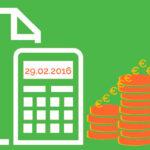 Obligaciones fiscales febrero 2016