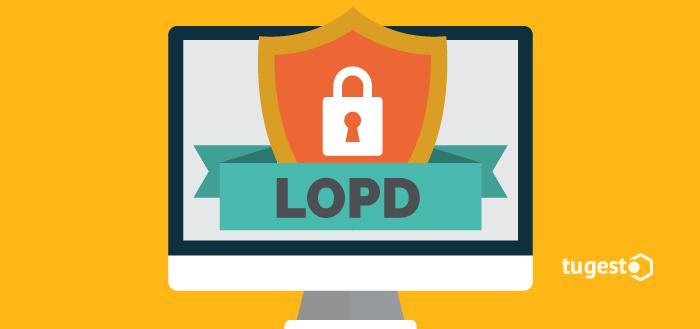 Pagina web adaptada a la Ley de Protección de datos.