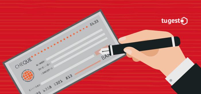 Reclamar la deuda de un cheque mediante un juicio cambiario.