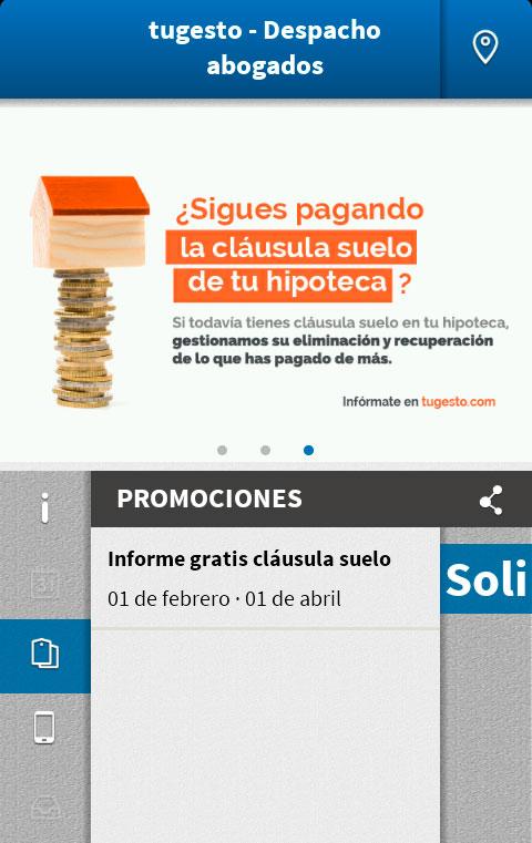 promoción cláusula suelo APP La Vall