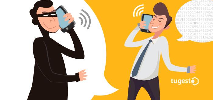 Suplantación de identidad. Robo de datos personales a través conversaciones telefónicas.