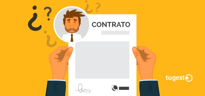 Persona sorprendida al ver un contrato de telecomunicaciones con su identidad.