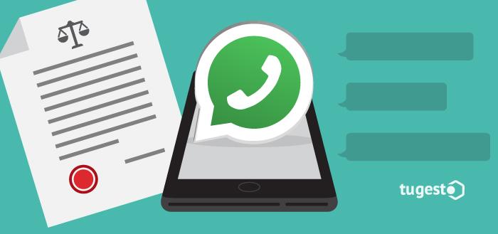 Denuncia de amenazas a través de Whatsapp.