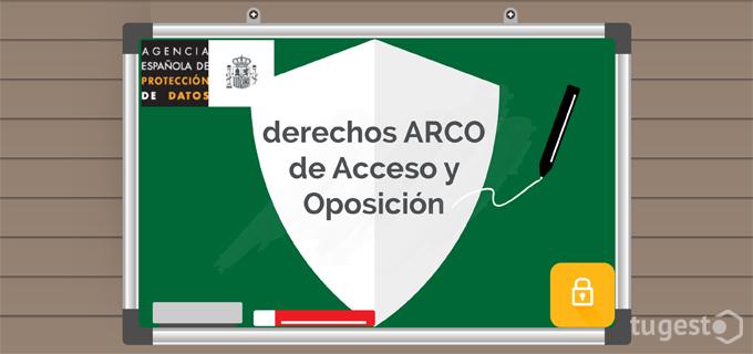 Acceso y oposición de datos personales