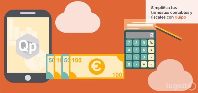 Haz tus trimestres fiscales desde la aplicación de Quipo