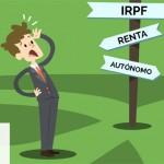 Autónomo, no te líes con el IRPF