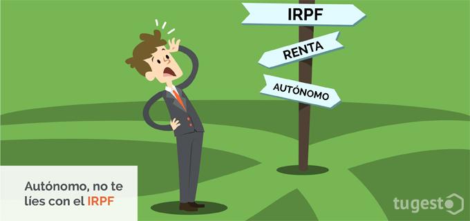 El autónomo se siente perdido con el IRPF