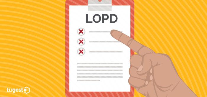 Sanciones por incumplimiento LOPD