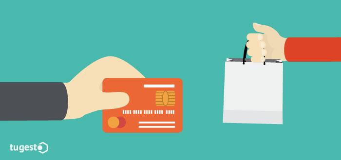 Realizar un pago con la tarjeta de forma fraudulenta