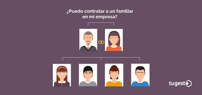 Familia que trabaja en una empresa
