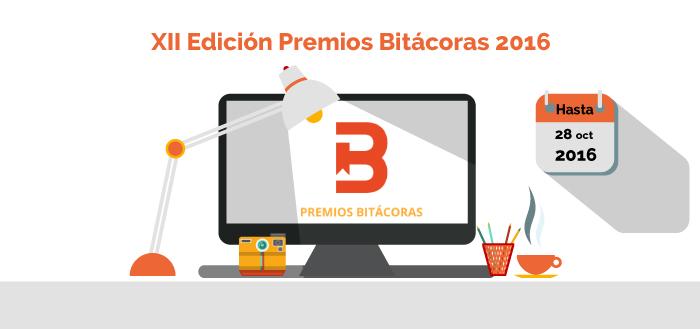 XII Edición premios bitácoras 2016