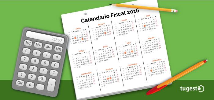 Imagen destacada Calendario Fiscal 2016