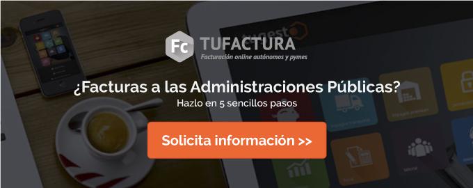 Más información sobre la Facturación a las Administraciones Públicas