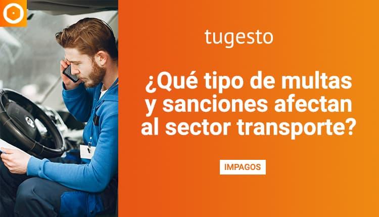 Sanciones en el sector transporte