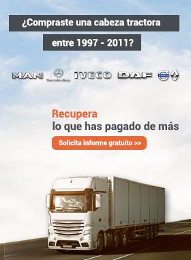 ¿Compraste una cabeza tractora entre 1997-2011?