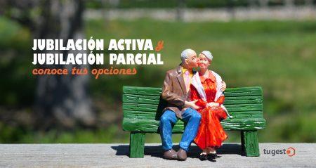 jubilacion activa y jubilacion parcial