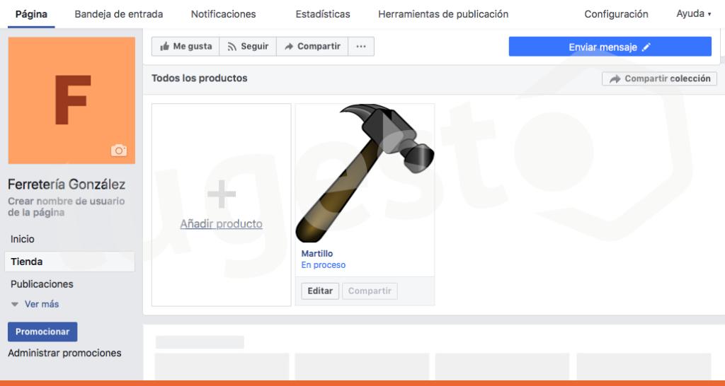 productos tienda facebook