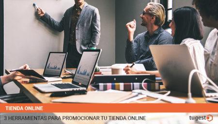 Te explicamos tres herramientas para promocionar de forma efectiva tu tienda online: Hootsuite para redes sociales, Pixlr para tratamiento de la imagen y Mailchimp para email marketing