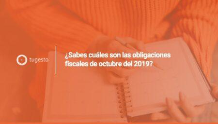 obligaciones fiscales de octubre