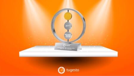 tugesto gana el premio de Tecnología Digital de España